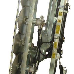 Prepodadora Doble Articulada de Discos PF-605 S-R : PF-555 S-R : PF-555 S-R 6 : JUMAR